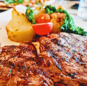Combination Steak Barbeque