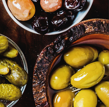 Pickle and Olive Platter