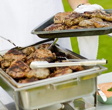 Steak and Chicken Barbeque