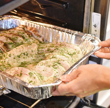 Homestyle Turkey Dinner