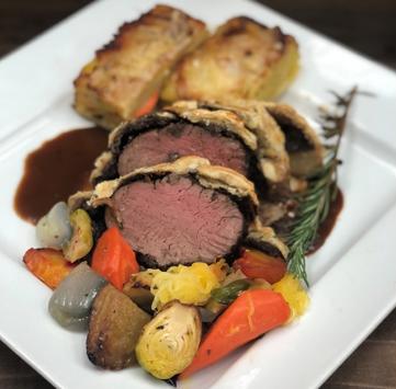 Beef Wellington for 2